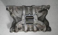 Edlebrock performer intake manifold for a Ford 400M engine. Worked great but switched to a 460 and no longer need the 400 intake. Paid $280 will take $100. Installed for two weeks then found internal problems with the motor. Will consider trades for
