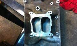 Edelbrock intake for use on motors with vortec heads . Part number 2116 part of the performer series. This ad was posted with the Kijiji Classifieds app.