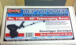Brand new still in the box Scott electric downrigger,