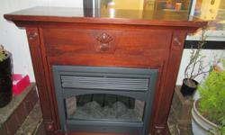 Electric Fireplace with remote Asking $200 obo
