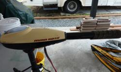 36 Lb thrust electric motor , not had a lot of use , $80.00