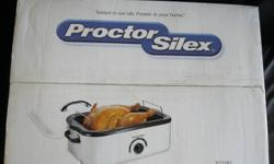 Proctor Silex 18 qt electric roasting oven. Brand new, in original box, never opened.