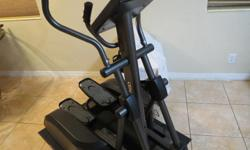 Center G elliptical machine. Very smooth, health club quality machine. 7 years old, works great, original cost $2400.