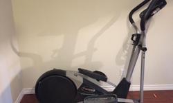 Pro-form elliptical machine