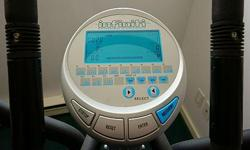 Infinity ST950 Elliptical Trainer. Bought new from Aloyd for $800.00 magnetic resistance elliptical trainer adjustable depth of stride smooth traction provides easy, quiet resistance club size stroke dual action plus stationary handlebars 4 heart rate