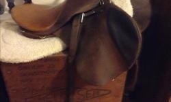 Genuine Stubben saddle Lady ridden for dressage & competition jumping