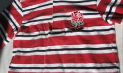 Something for your British Rugby fans Marks and Spencers brand Size 2-3 years old Good condition Says ENGLAND across the back From clean, smoke free home Please see 'Sellers List' for other children's clothing etc
