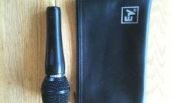 I bought this mic new about 10 years ago. It has pretty much sat in my closet since. Looks like it is brand new. Email me for questions.
