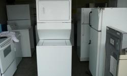 We have a very nice 1 Piece Stackable Washer & Dryer Unit for sale that you won't want to pass up here in Victoria ! This Kenmore One Piece Unit has also been re-built & re-furbished recently with brand new parts, so it is a real bargain for anyone