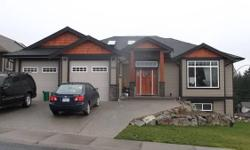# Bath 4 Sq Ft 3620 # Bed 6 Just over one year old 3620 sq ft executive level entry walkout basement home 1820 sq ft up 1800 sq ft down in a great strategic location in North Nanaimo, close proximity to Vancouver 11/2 hr by ferry, 15 min plane ride with