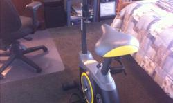 I have a like Brand New Gold's Gym Cycle Trainer Exercise Bike. This bike has Hardly ever been used. I also have the original Manuel. The bike has a full load console with a fan and sound system on board. You can connect your MP3 player or CD playing