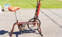 CCM antique exercise bike, chain driven. Good condition.