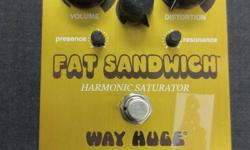 Fat Sandwich Harmonic Saturator Distortion Pedal