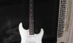 2001 Fender Stratocaster Aztec Silver, Mint Condition. w. case $700   Boss GT 8 Effects Processor $200