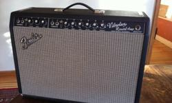 Original blackface Vibrolux Reverb from 1966 in near mint condition. Sounds wonderful. Comes with original cover.