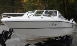 Fiberform 6 in line chevy motor New upholstery Complete boat has been redone,but kept original. Comes out of the water in the blink of an eye,perfect for all water sports. Asking $5000 O.B.O. Trailer included May consider trades ,Classic boats welcome