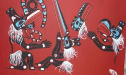 I have three very unique original paintings with certificates of authenticity by world renowned West Coast First Nations Artist Fred Anderson Jr. Two are on stretched canvas and one is framed. Must sell, all reasonable offers considered. Please phone 250