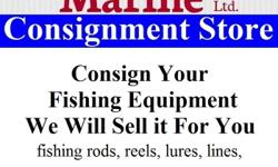 """Nautical Star Marine """"The Store"""" is now looking for fishing equipment as stock for consignment. We have been getting a lot of people asking about fishing rods, reels, lures, lines, down riggers, cannon balls and more. Save your time and let us do the"""