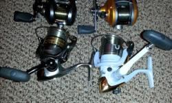 Fishing tackle saltwater and freshwater lots of bass tackle, Rods and reels Mega tackle lots of it is brand new never used. Fly rods and reels.