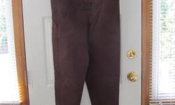 1 pair Proline neoprene waders -- size Medium. No leaks, like new. $40. Had two pairs - one is sold.