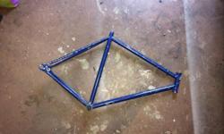 Bare bones fixed gear frame, 54 (medium size) Too many projects Fixed gear, fixie, single speed, track bike