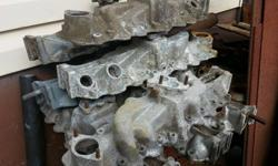 Flathead Ford intakes, all 2bbl, lots of them, about 12 different styles, some ford and some merc, all aluminum, $35 OBO