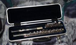 We are selling off a flute that has hardly been used. We bought it for our son for school, and he may have used it three times in the school year. He no longer has any interest in it. We are asking $150.00 O.B.O. If you are seriously interested in this