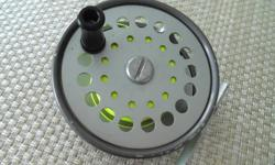 """Fly Reel """" THE GORDON"""" 3- 3/4"""" Made By Sharpes Of Aberdeen Reel is in very good condition for its age."""