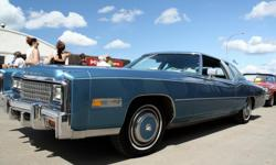 Make Cadillac Year 1978 Colour Mediterranean blue Trans Automatic Biarritz 2 dr. coupe.Loaded w/all options but sunroof.Rated good to very good by appraisers.One owner and 1 caretaker.425 cu.in. carbureted engine.Price reduced.