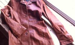 For Sale: Danier Leather Jacket - Women's Gorgeous women's leather jacket Made in Canada size women's 4 Very soft, high quality leather Used condition $100.00 obo [IMG]http://i26.photobucket.com/albums/c127/ronin2046/Clothing/danier_1607.jpg[/IMG]