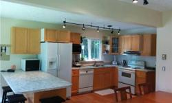 # Bath 2 Sq Ft 2196 # Bed 3 For Sale: Charming 3 bed West coast home nestled among tall firs with ample privacy offers Master bedroom with commanding fireplace, walk out deck, private Jacuzzi in en-suite, and large walk-in closet. Floor to ceiling
