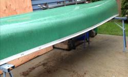 For sale 17 ft canoe.