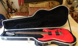 For sale or trade for PC laptop of equal value. !985 Red Strat Esquire is the same that Jeff Healey prefered. Twin Alnico humbuckers. Comes with blue Fender thermoplastic case. In excellent condition. 1995 Black Epi Nighthawk. With aftermarket road case.