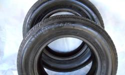 two  all season 175/70 R13 TIRES excellent conditon 30.00 each .   located EAST SHORE Kootenay Bay / Crawford Bay area.