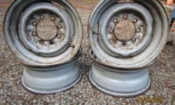 """FACTORY STEEL 16"""" RIMS . FIT 70'S / 80'S / 90'S CASSIDY"""