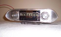1964-1967 Corvair radio. 1952-1955 Ford radio. Please call 604-596-2785