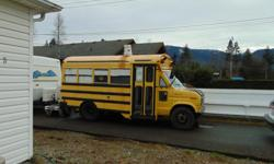 Came from the Yukon. Off gridders, hippies, surfers this is your dream vehicle. Small wood stove, solar panels, generator. propane fridge, spare engine.