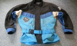 Fox Riding Jacket XL. I am not a XL size but this fits me great with or without a sweater underneath. Very breathable. Old jacket but very protective. Still in good shape. Located in Cobble Hill.