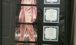 Beautifully framed 4 piece Elvis plate set with certificates. This ad was posted with the Kijiji Classifieds app.