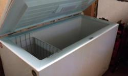 "57"" x 27"" x 36"" (depth) working freezer Must pick it up. Text 604-250-4503"