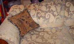 Two Seater sofa in good condition has nice rolled arms. Will need strong guys to move. Chemainus