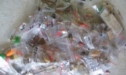 (((Open this ad to view all that is listed.)) FRESH WATER FISHING LURES. I have lots of small TROUT lures mostly from $.50 to $1.50 each. I have lots of large lake TROUT lures mostly from $1.00 to $2.00 each. I have lots of BASS lures mostly from $3.00 to