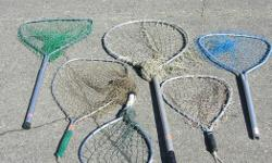 """FRESH WATER FISHING NETS. $6.00 - $10.00 each All in very good condition Its a house number so texting will not work. """"""""DO NOT"""""""" CALL BEFORE 8 am. OR AFTER 9:00 pm. CASH ONLY. PICKUP ONLY VIEW MAP for general location. View poster's list for this Seller's"""