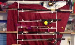 Starting at $20.00 and up 1. Have several individual Freshwater Rod(s)-Only 1 left 2. Have several individual Freshwater Reel(s)