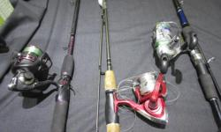 Come on down to MoneyMaxx and check out our selection of freshwater reels and rods from 14.99 We also have a couple of fly fishing rods and saltwater. Stop by and have a look.