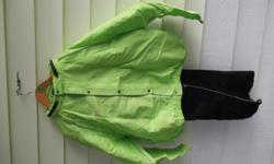 COLOUR GREEN SIZE XL CARRYING BAG INCLUDED