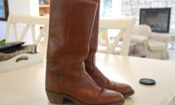 Very cool Frye boots. Sole is in excellent condition and leather is hardly worn.