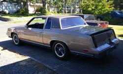 Make Oldsmobile Model Cutlass Supreme Year 1984 Trans Automatic This Oldsmobile is no ordinary Cutlass! A lot of money/time and pride was put into this car by a previous owners. A new Zz 5 fast burn 350 was installed in 2001 along with rebuilt trans with