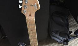 Made in Indonesia, Comparing it to an American G&L I would say the finish on body and neck is the only thing different. As well as the 1500-2500 price range. I love the sound on this guitar, it sounds better then some of my American Fenders I own. Very