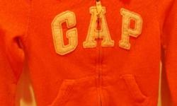 Girls size small(6-7) hoodie peach in color excellent condition selling for $10